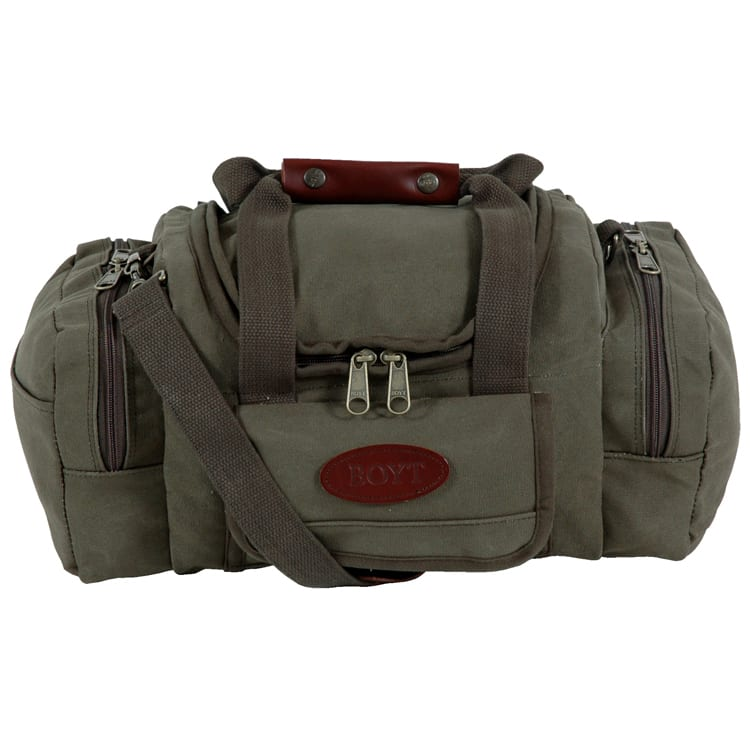 Boyt Harness Company, Signature Series Canvas Sporting Clays Bag Green