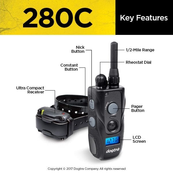 Dogtra 280C System Key Features
