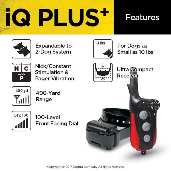 Dogtra IQ Plus System Features
