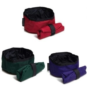 Mendota Pet Collapsible Dog Bowl
