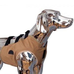 SnakeArmor Khaki Dog Hunting Vest