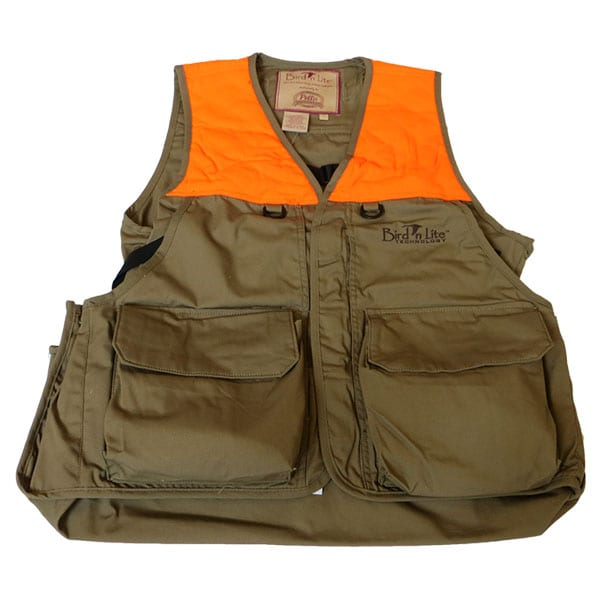 Pella Khaki Orange Bird n Lite Upland Pack Vest