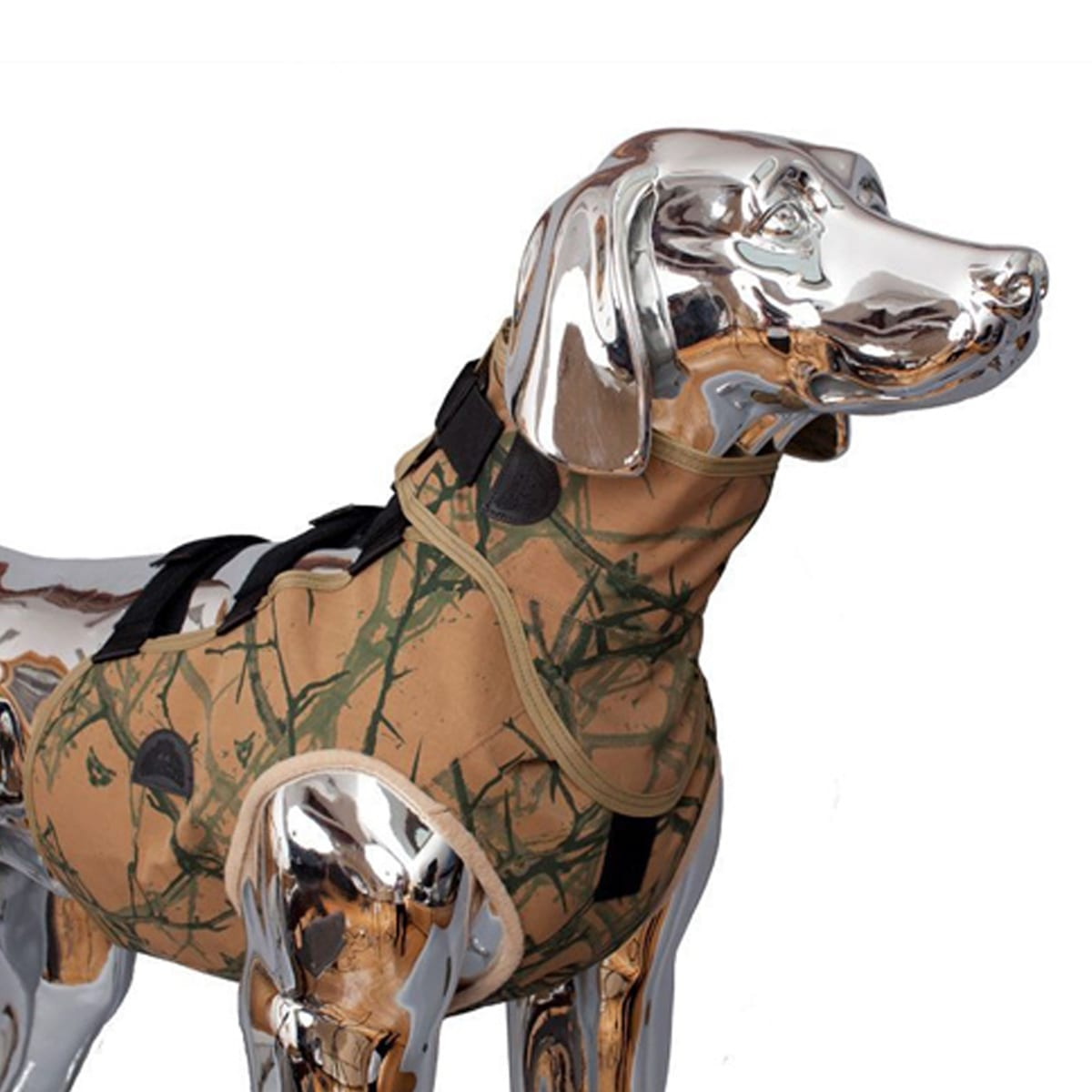 SnakeArmor Camo Dog Neck Protection