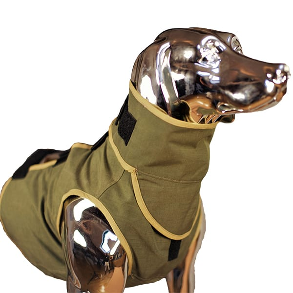 SnakeArmor Sage Dog Neck Protection