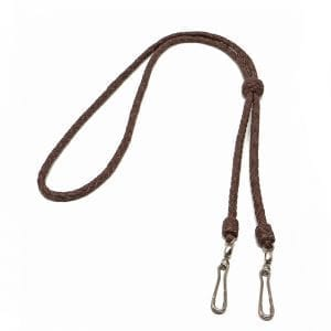 K-9 Komfort Kangaroo Leather Double Lanyard