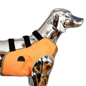 SnakeArmor Blaze Orange Dog Hunting Vest