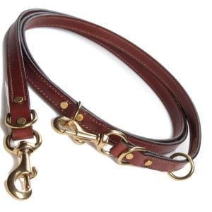 Mendota Leather Jaeger Lead