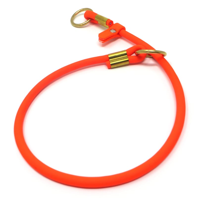 K-9 Komfort TufFlex Orange Round Slip Collar