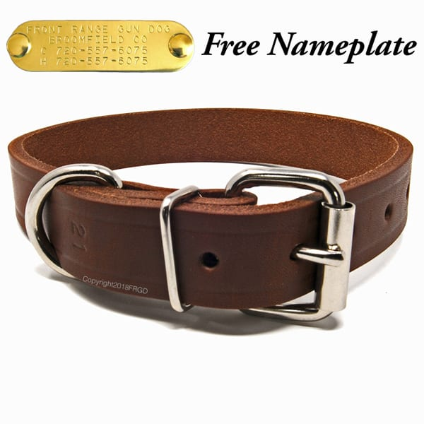 1 Inch Leather Collar