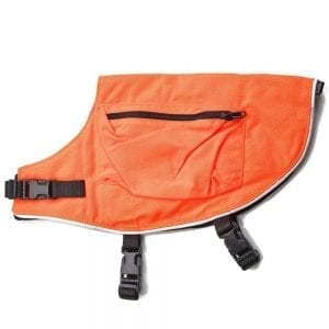 Mendota Orange Canine Field Jacket With Reflective