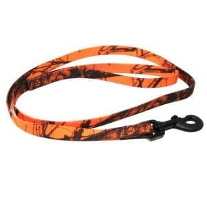 Mossy Oak Blaze Camo Nylon Lead 4ft