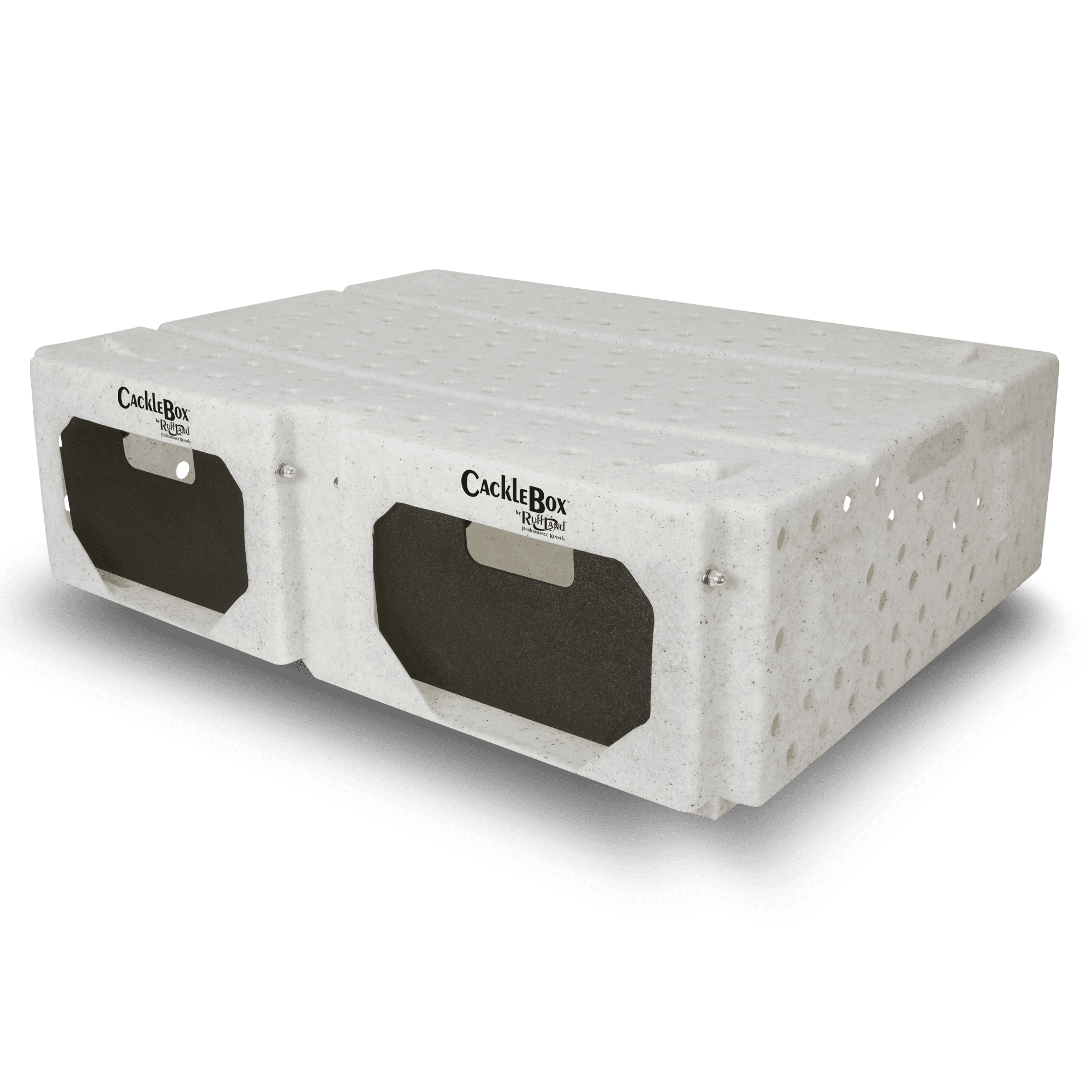 Ruff Land Kennels Double Wide Cackle Box