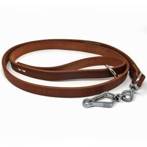 French Snap Leather Lead