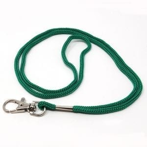 Swivel Hook Neck Lanyard Green