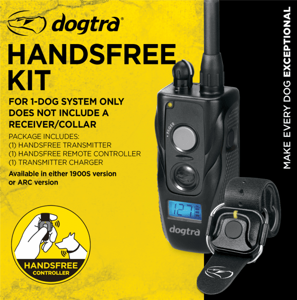 Dogtra 1900S Handsfree Kit