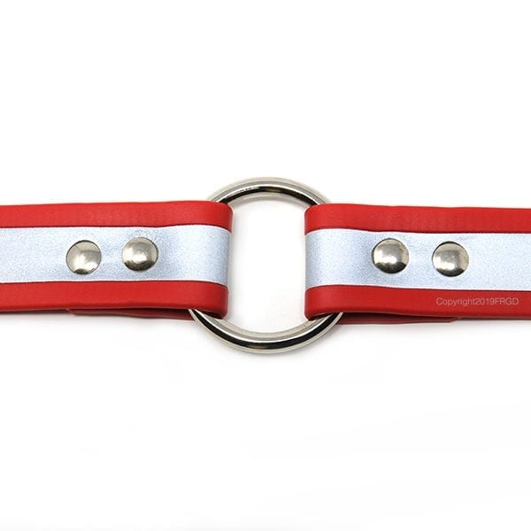 1 Inch Beta Reflective Collar RIC Red