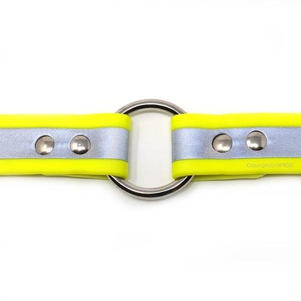 1 Inch Beta Reflective Collar RIC Neon Yellow