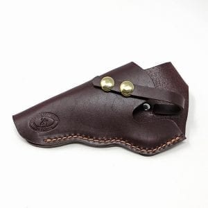 Large Training Pistol Leather Holster