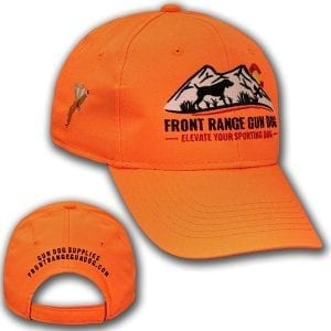Front Range Gun Dog Blaze Orange Cap