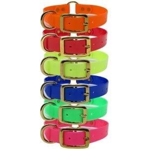 1 Inch Day Glow Collar Brass
